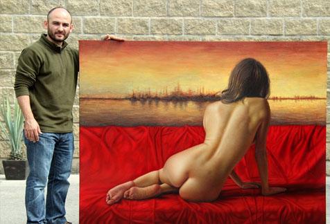 El erotismo a través de las manos de Omar Ortiz