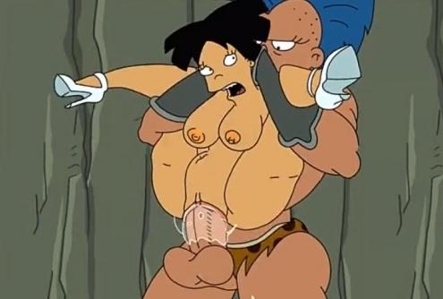 Las parodias porno de Futurama